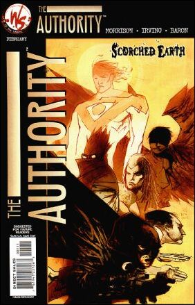 Authority: Scorched Earth 1-A by WildStorm