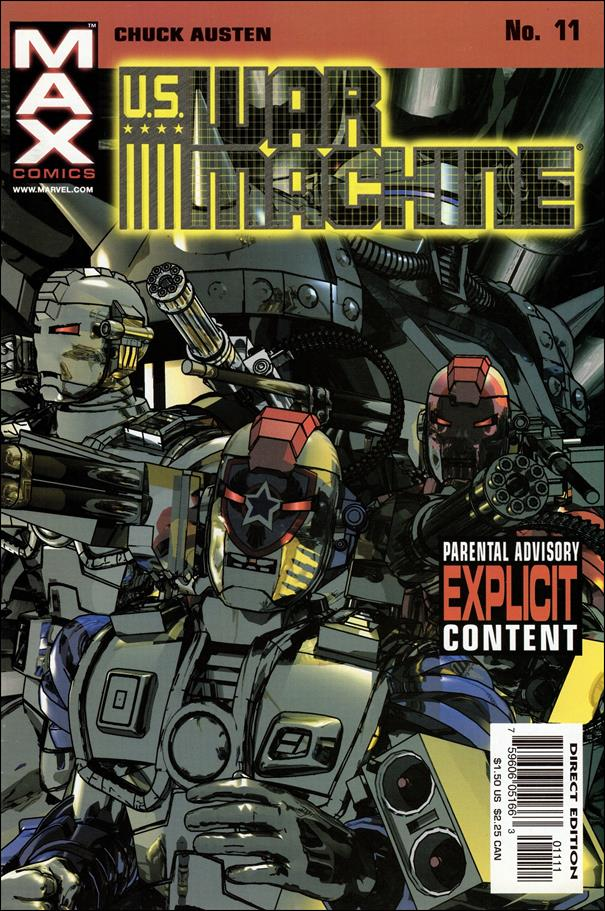 U.S. War Machine 11-A by Max