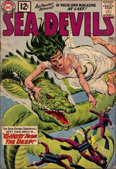 Sea Devils 3-A by DC