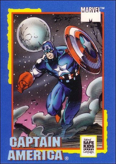Trading Card Treats (Marvel Subset) nn-1-A by Impel