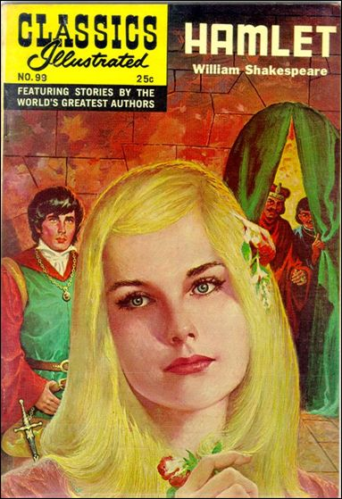 Classic Comics/Classics Illustrated 99-H by Gilberton