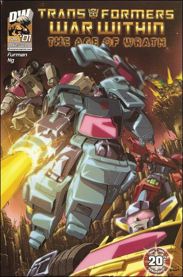 Transformers: War Within: The Age of Wrath 1-B by Dreamwave