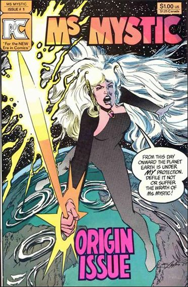 Ms. Mystic (1982) 1-A by Pacific Comics