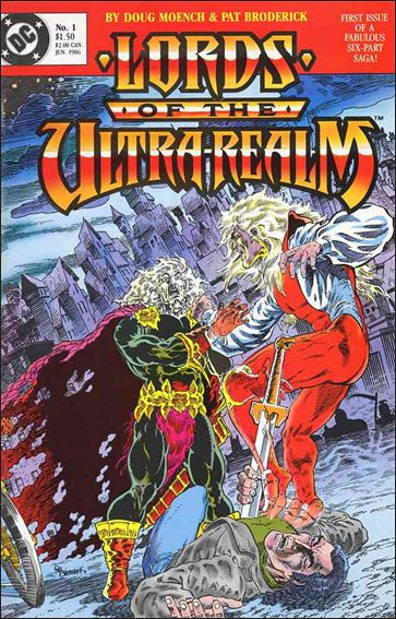 Lords of the Ultra-Realm 1-A by DC