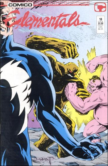 Elementals (1984) 18-A by Comico