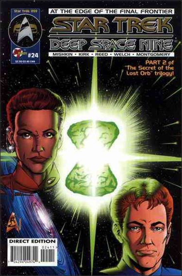 Star Trek: Deep Space Nine (1993) 24-A by Malibu