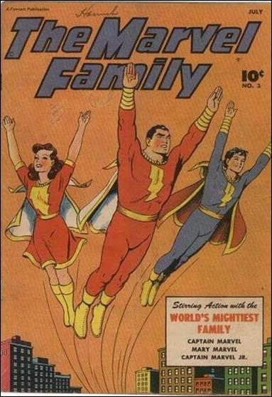 Marvel Family 3-A by Fawcett