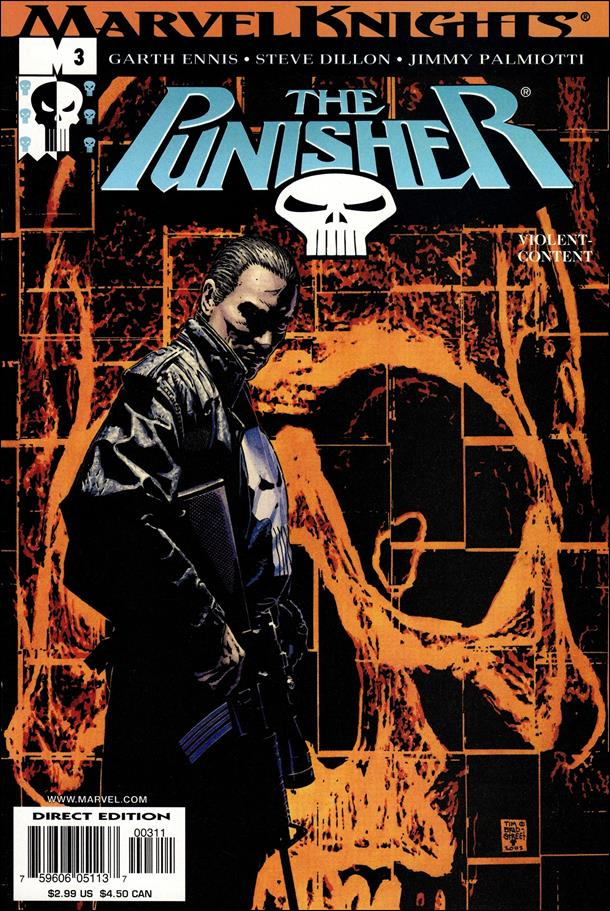 Punisher (2001) 3-A by Marvel