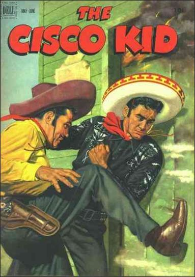 Cisco Kid (1951) 9-A by Dell