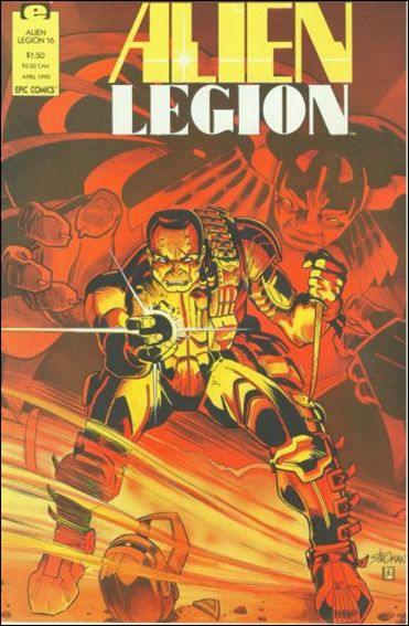 Alien Legion (1987) 16-A by Epic