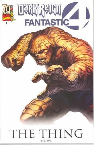 Dark Reign: Fantastic Four 1-B by Marvel