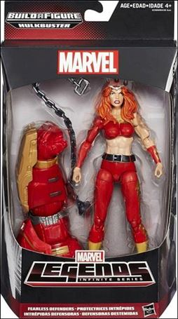 Marvel Legends Infinite: Avengers (Hulkbuster Series)  Fearless Defenders (Thundra)