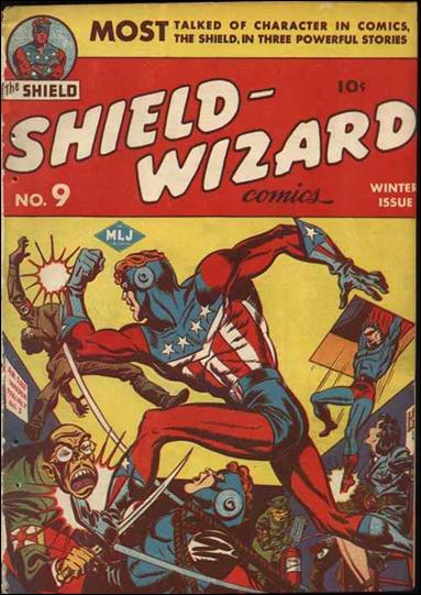 Shield-Wizard Comics 9-A by Archie
