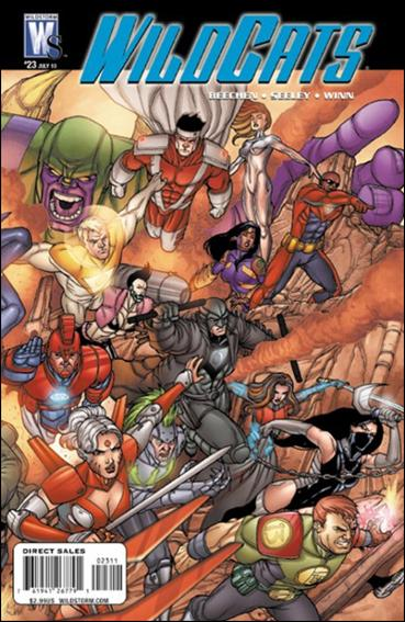 Wildcats (2008) 23-A by WildStorm