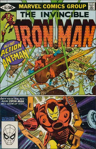 Iron Man (1968) 151-A by Marvel