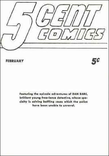 5-Cent Comics 1-A by Fawcett
