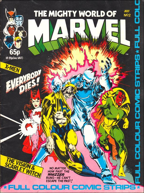 Mighty World of Marvel (UK) (1983) 2-A by Marvel UK