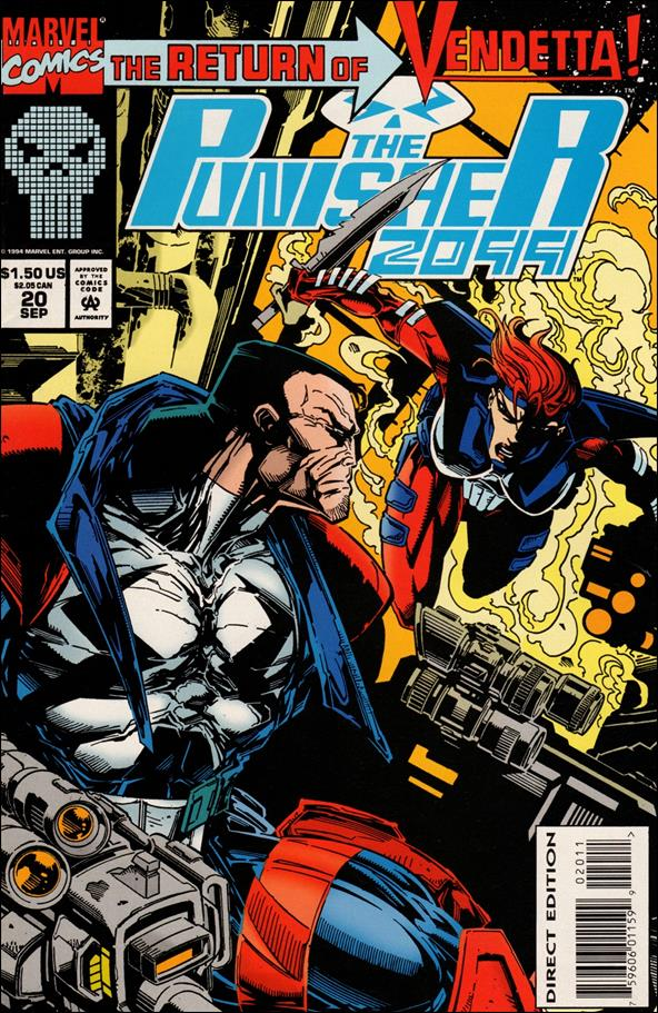 Punisher 2099 (1993) 20-A by Marvel