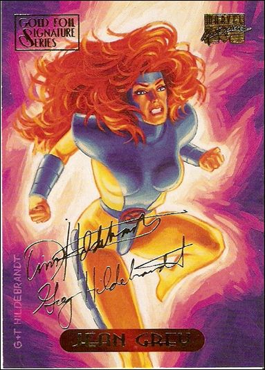 1994 Marvel Masterpieces (Gold-Foil Signature Parallel Base Set) 45-A by Fleer