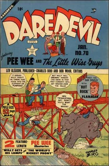 Daredevil (1941) 70-A by Lev Gleason Productions
