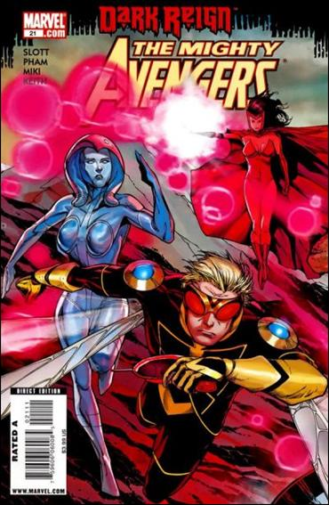 Mighty Avengers 21-A by Marvel