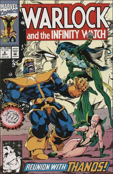 Warlock and the Infinity Watch 8-A by Marvel