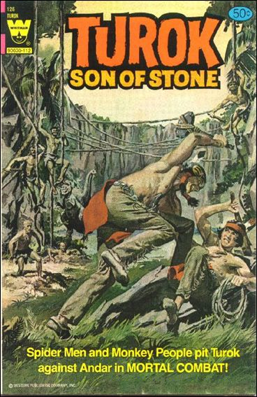 Turok, Son of Stone (1956) 128-A by Gold Key