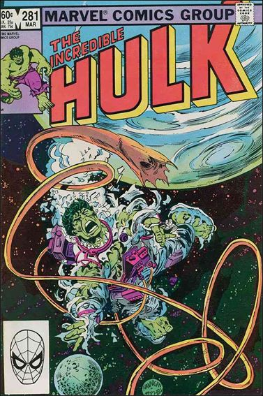Incredible Hulk (1968) 281-A by Marvel
