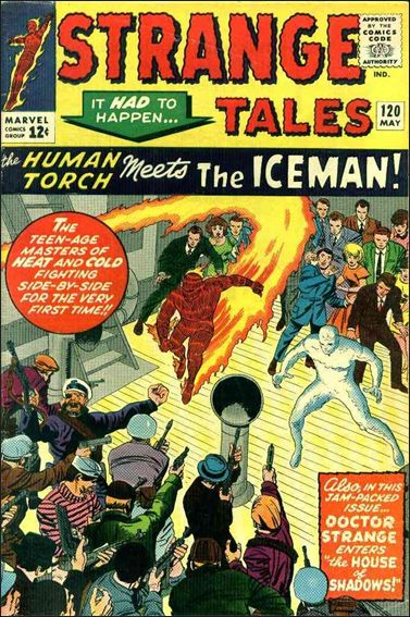 Strange Tales (1951) 120-A by Marvel