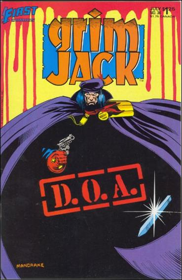 Grimjack 36-A by First