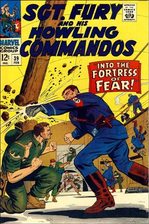 Sgt. Fury and His Howling Commandos 39-A