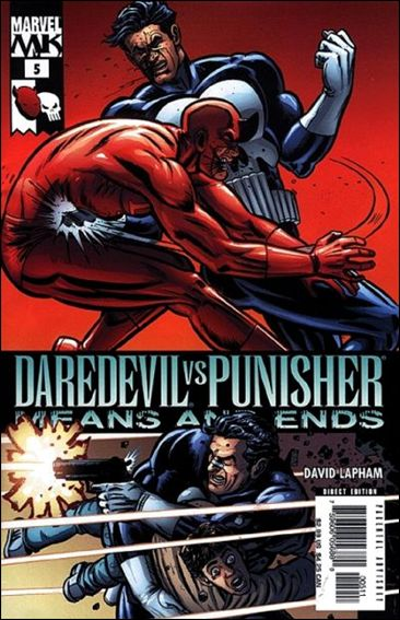 Daredevil vs Punisher: Means and Ends 5-A by Marvel