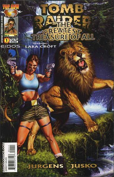 Tomb Raider: The Greatest Treasure of All 1-A by Top Cow