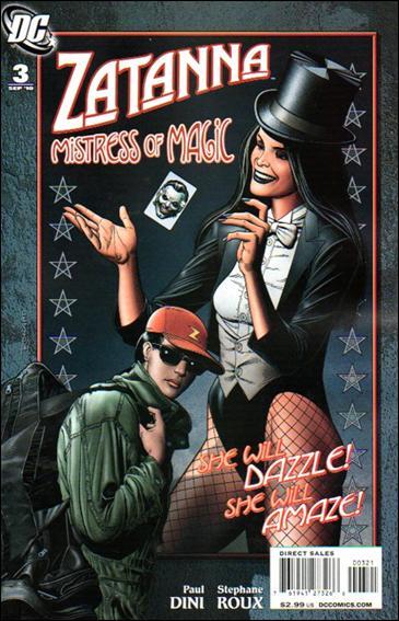 Zatanna (2010) 3-B by DC