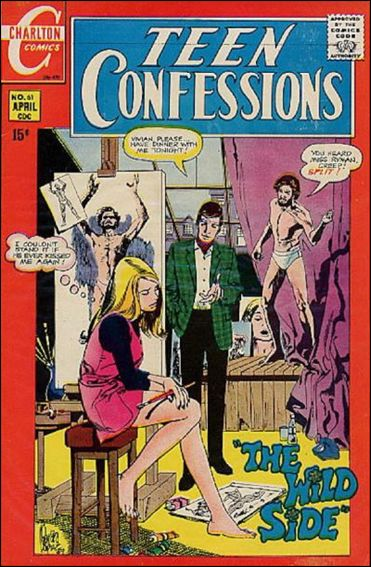 Teen Confessions 61-A by Charlton