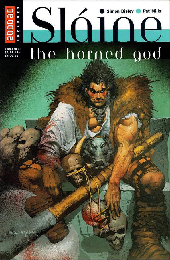 Sl&#225;ine the Horned God 3-A by Fleetway