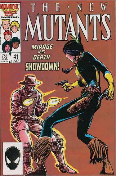 New Mutants (1983) 41-A by Marvel