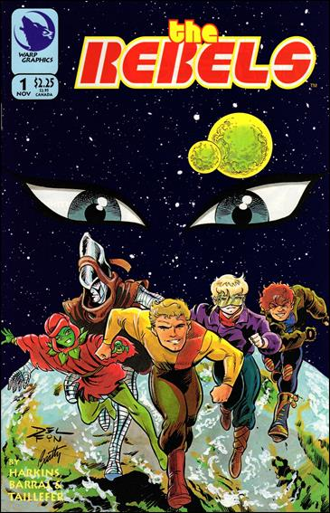 Elfquest: The Rebels 1-A by Warp Graphics