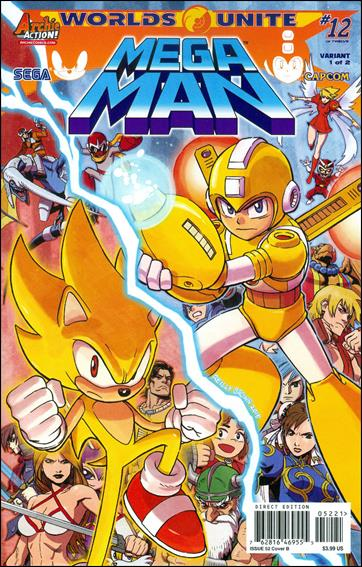 Mega Man 52-B by Archie