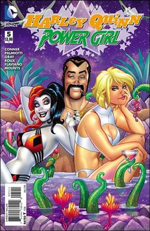 Harley Quinn and Power Girl 5-A