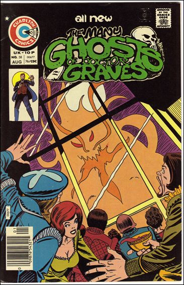 Many Ghosts of Dr. Graves 58-A by Charlton