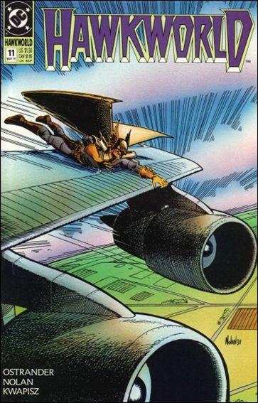 Hawkworld (1990) 11-A by DC