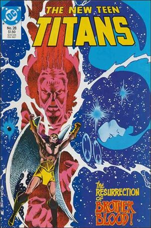 New Teen Titans (1984) 28-A