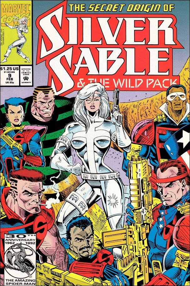 Silver Sable & The Wild Pack 9-A by Marvel