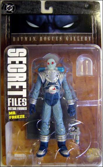 Secret Files (Series 1) [Batman Rogues Gallery 1] Mr. Freeze by DC Direct