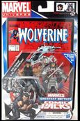 Marvel Universe: Marvel's Greatest Battles (Comic-Packs) Wolverine and Silver Samurai