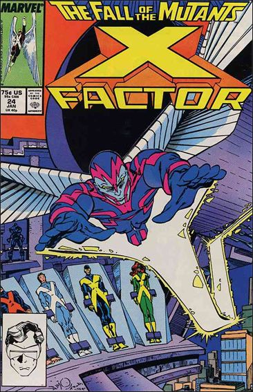 X-Factor (1986) 24-A by Marvel