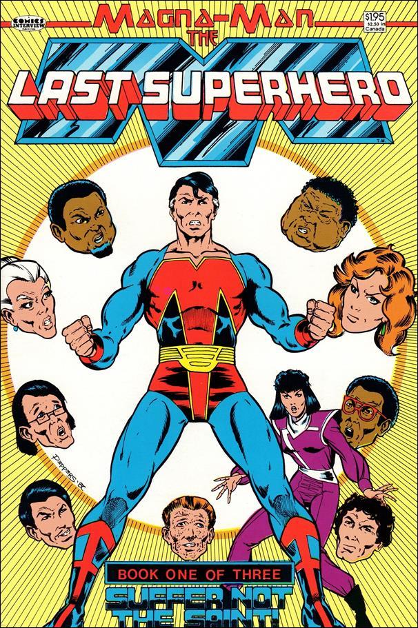 Magna-Man: The Last Superhero 1-A by Comics Interview