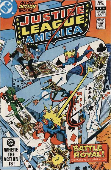 Justice League of America (1960) 204-A by DC