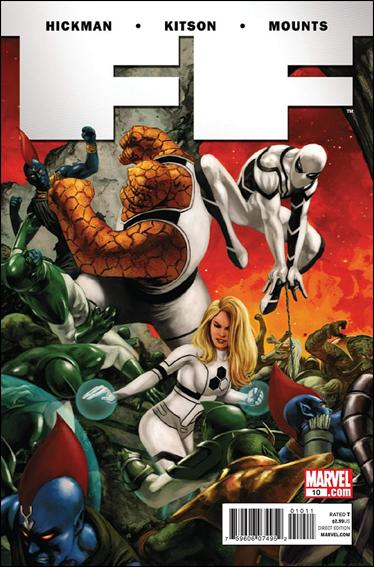 FF (2011) 10-A by Marvel